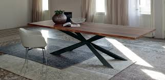 Modern Wood Dining Room Tables Tables Fixes Spyder Wood Cattelan Italia Divine Dining