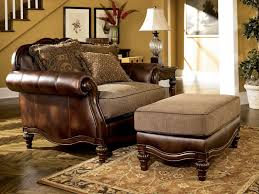 Faux Leather Living Room Furniture by Ashby Wood Trim Chenille U0026 Faux Leather Sofa Couch Set Living