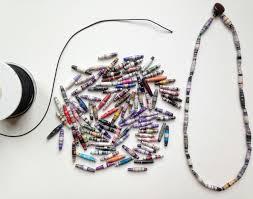 handmade paper beads haiti made girls craft kits make your own
