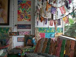 Bohemian Decorating by Http Thehippieparade Blogspot Com Love The Wood Hippie Art