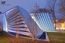 broad art museum by zaha hadid architects michigan usa