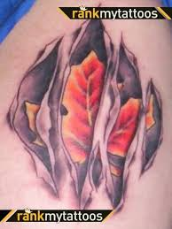 leaf tattoo art and designs page 56