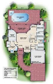 house plans mediterranean style homes 2 208 sq ft floor plans for this set of mediterranean style