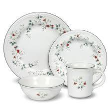dining room pfaltzgraff pattern and winterberry dinnerware set