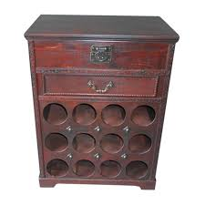 wine rack side table wine rack side table w open top 12 bottle boxman