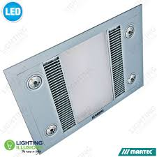 3 In 1 Bathroom Light by Exhaust Fans On Sale Now Lighting Illusions Online