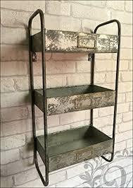 aufbewahrungsschrank küche retro vintage industrie stil metall einlegeböden regal