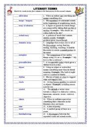 literary devices worksheet 9th grade u2013 download site