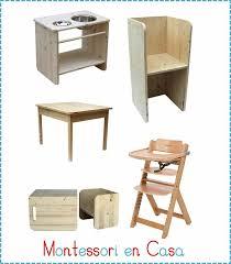 Montessori Weaning Table Mobiliario Montessori 702x800 Espacios Y Más Infantiles