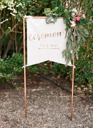 diy wedding signs unique diy wedding signs the yes
