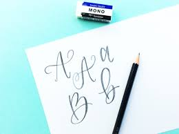 tips for writing papers 3 hand lettering tips for beginners a pencil eraser and some paper are great supplies to get your started you can practice lettering with a pencil they aren t just for drawing