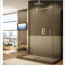 Shower Door Styles Sliding Glass Doors Shower Cozy Bathroom Doors With Frosted
