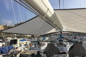 Sailboat Awning Sunshade Awnings And Bimini Tops For Aft Cabins Genoa Sun U0026 Shade