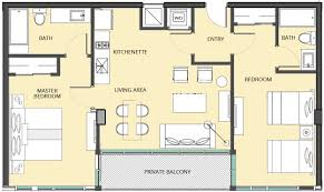 Midtown Residences Floor Plan by Condominium Hotel The Bentley