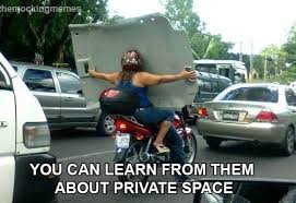 Driving Meme - get your personal space while driving russian memes