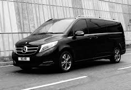 luxury minivan mercedes mercedes v class hr carriages
