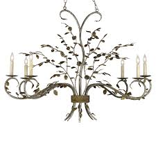 Chandelier Company Buy The Raintree Oval Chandelier By Currey U0026 Company