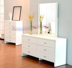 Decorating A Bedroom Dresser Bedroom Fancy White Wooden Dresser With Drawers In
