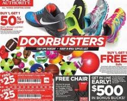 sports authority black friday 2017 deals sale ad