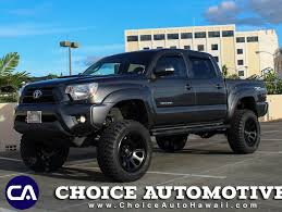 toyota tacoma rims and tires 2014 used toyota tacoma 6 1 2 lift w 20 rims and 33 tires