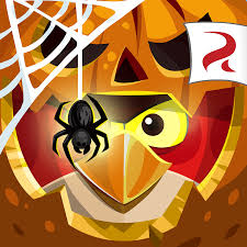 image angry birds epic square icon halloween png angry birds