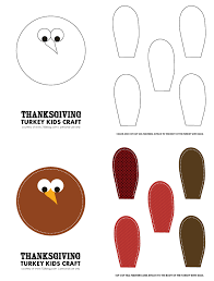 printable thanksgiving crafts thanksgiving turkey kids craft with free printables inspiration