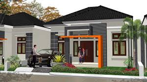 desain rumah corel 65 desain rumah minimalis modern 1 lantai untuk keluarga kecil