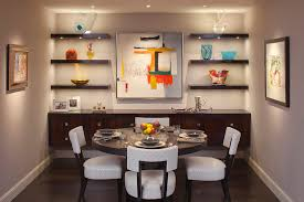 Dining Room Wall Shelves Ideas With Unique Design - Dining room wall shelves