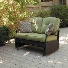 White Resin Wicker Loveseat Bench White Outdoor Glider Bench White Resin Wicker Outdoor Seat