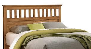 furniture sterling queen headboard w bed frame in clear oak 4900