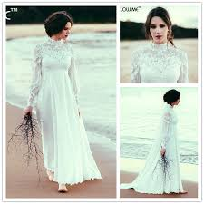 pregnancy wedding dresses empire waist bohemian maternity wedding dress high neck