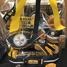 Pittsburgh Gift Baskets Steelers Tailgate With Cooler Gift Basket World