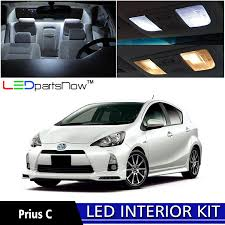 amazon com ledpartsnow 2012 2017 toyota prius c led interior