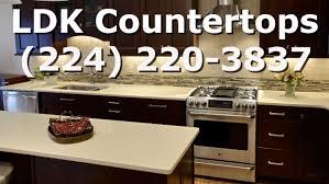 Quartz Kitchen Countertops Reviews White Quartz Countertops Review Youtube