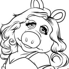Coloring Pages Miss Piggy Kids Drawing And Coloring Pages Marisa 80s Coloring Pages