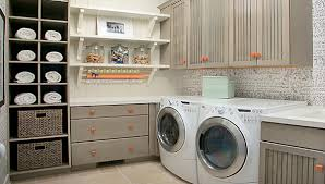 contemporary laundry room cabinets contemporary laundry room with open shelves also modern floating