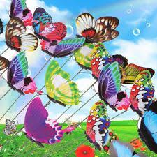sticks butterfly metal statues lawn ornaments ebay