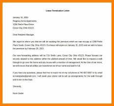 letter of termination free download termination of services