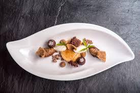 haute cuisine dishes haubenküche hotel vorarlberg montafon restaurant hotel schruns