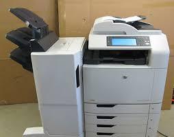 hp colour laserjet cm6040f mfp copier scanner color fax printer