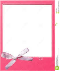 pink polaroid template stock images image 15170574