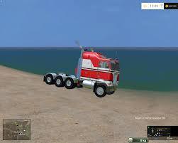 kenworth cabover trucks kenworth k100 cab over v2 modhub us