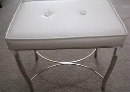 Perla Vanity Chair Stools Infatuate White Vanity Stool Amazon Bathroom Vanity