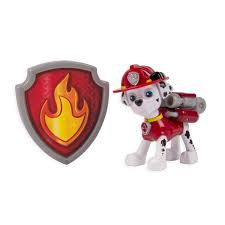 paw patrol action pack pup u0026 badge marshall toys