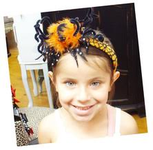 houston girls u0027 u0026 ladies u0027 halloween headbands spooky spiders