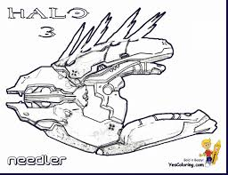 good halo weapons coloring pages with halo coloring pages