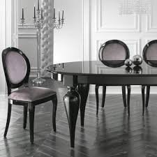 Black Lacquer Dining Room Chairs Dining Leonardo Dining Amazing White Italian Lacquer Dining Room