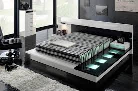 Interiordazzling Black And White Bedroom Idea With Leather Arm - White and black bedroom designs