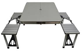Folding Picnic Table With Benches Folding Picnic Table With Attached Seats Mac Sports Store
