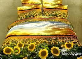 Yellow King Size Comforter Sunflower Duvet Covers U2013 De Arrest Me